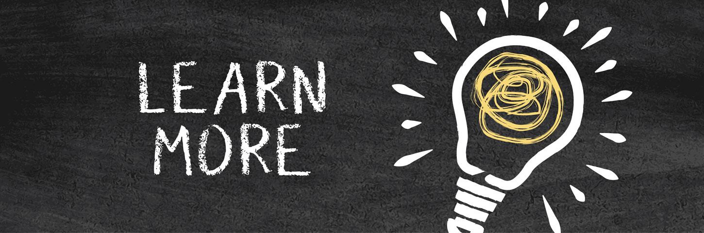 Learn more lightbulb