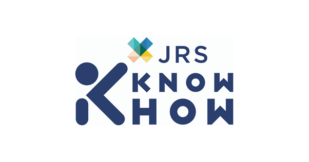 Navy JRS Knowhow with multicoloured X